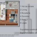 De vanzare apartament cu 2 camere de 54 mp utili ,str. Sperantei , langa padurea Rosu .