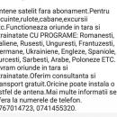 Antene satelit fără abonament. 0767014723