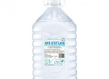 Apa Distilata ( obtinuta prin metoda distilarii )